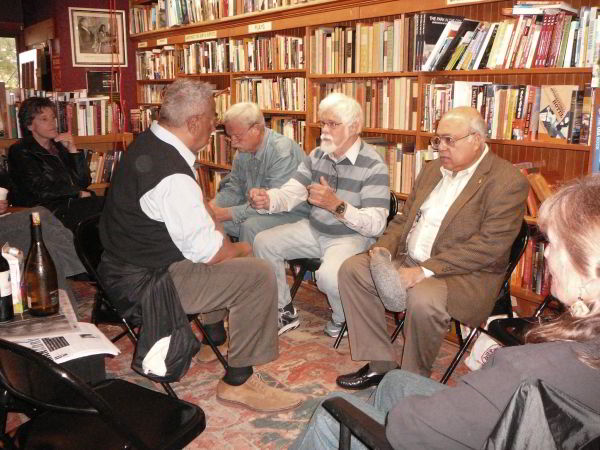 Bird and Beckett Bookstore, San Francisco 2010, old guys sitting around