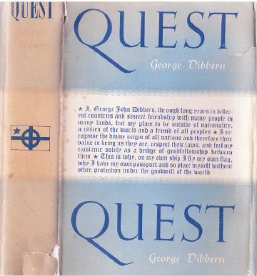 Quest First Edition Dust Jacket